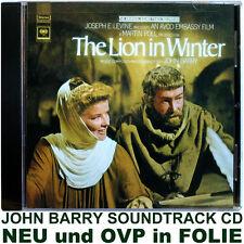 The Lion in Winter - John Barry - Soundtrack CD NEU und OVP in FOLIE