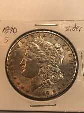1890 S Morgan Silver Dollar No Reserve!