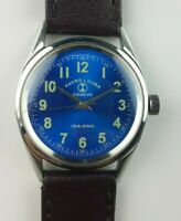 VINTAGE FAVRE LEUBA ULTRAMARINE BLUE DIAL WINDING SWISS WRIST WATCH 30.2MM...MN