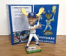 Mike Moustakas MOOSE ANTLERS BOBBLE ~ 2016 Stadium Promo Bobblehead SGA