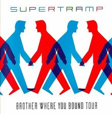 SUPERTRAMP 1985 BROTHER WHERE YOU BOUND TOUR CONCERT PROGRAM BOOK / NMT 2 MINT