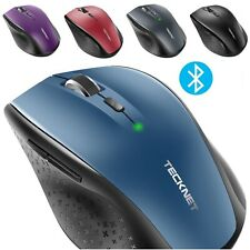 Bluetooth Wireless Mouse Ergonomic Computer Mice for Windows Laptop Notebook PC