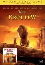DVD - KRÓL LEW 2019 (THE LION KING) - NEW DVD + PLAKAT - Wydanie specjalne