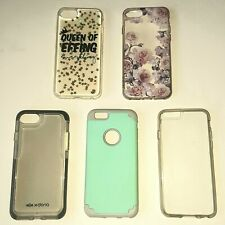 Iphone 6/6S iPhone 7/8/SE Cases Back Covers & Armband Snap On Silicone Bumpers