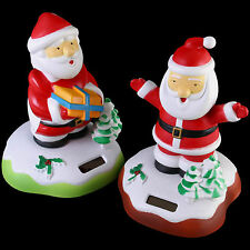 Weihnachten Solar Weihnachtsmann Nickend Weihnachtsdekoration Neuheit Lustig