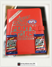 AFL TRADING CARD OFFICIAL ALBUM--2016 Select AFL Footy Star Trading Card Album