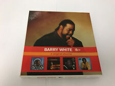 BARRY WHITE 4 CD GET ENOUGH LET THE MUSIC PLAY SAYI  LOVE 600753321829 MINT/EX