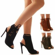 """Women's Synthetic Leather Slim Very High (greater than 4.5"""") Heels"""