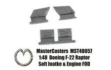 NEW 1:48  MasterCasters 48057 Lockheed Martin F-22 Raptor Soft Insert FOD set