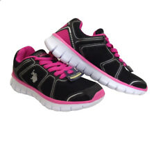 Ladies Sport Trainers Breathable Mesh Sneakers Lace Up Casual Shoes Lightweight