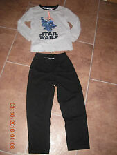 > Star Wars >  Pyjama Schlafanzug Pyjamaset Gr. 122-128 TOP