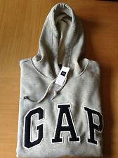 Genuine Men's GAP Logo Hoodie - Size M-XL - GREY, BLUE, BLACK, RED or TEAL - NEW