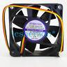 1pc EVERCOOL EC7025L12ER  DC12V 0.14A cooling fan 70*70*25mm 3-wire