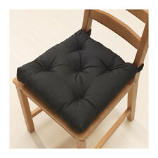 IKEA Chair Cushion Pad MALINDA Black Kitchen Office Patio Pad NEW
