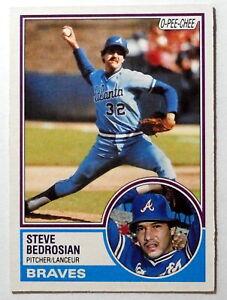 STEVE BEDROSIAN - 1983 O-Pee-Chee - Atlanta Braves