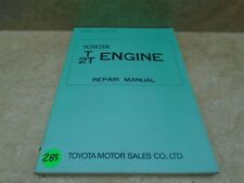 Toyota T2T T2 Used Repair Manual VP 70s VP-CM283