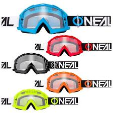 O'Neal B-10 Goggle Twoface MX Brille Klar Moto Cross DH Downhill Anti-Fog MTB