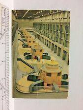 Glen Canyon Dam, Interior GENERATOR ROOM, Page Arizona AZ Postcard Vintage