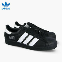 Adidas Originals Superstar 80s Bold Stripes Casual Shoes BD7363 Men's Size 9