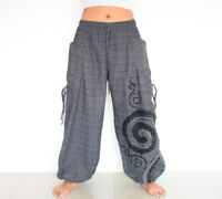 Harem pants Women Men Baggy pants Casual Hippie Gypsy style yoga pants M L XL