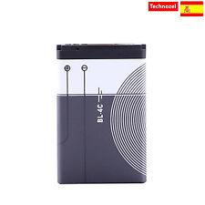 Bateria Para Nokia 6100, 6101, 6131 Alta Calidad Capacidad 900mAh BL-4C