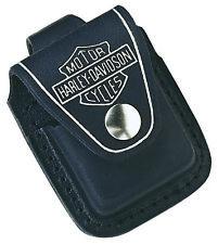 ZIPPO LIGHTER POUCH (97049) HARLEY DAVIDSON HDPBK BELT POUCH BLACK / AU STOCK !