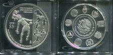 MEXICO  2008 - 5 Pesos in Silber, PP - OLYMPIA Disziplinen
