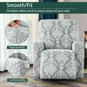 Elastic Stretch Recliner Chair Covers Sofa Armchair Soft Luxurious Slipcover New