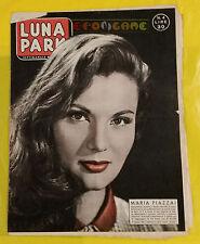 LUNA PARK 1958 n. 4 Maria Piazzai - Fotoromanzi a puntate
