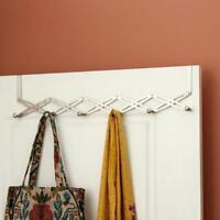 Flexible Door Hanger Rack Kitchen Organizer Bathroom Hooks Clothes Storage Cap