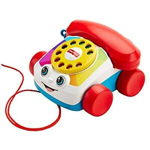 Fisher-Price Chatter Telephone - Version (FGW66) Pull Toy! Childs Phone Toy