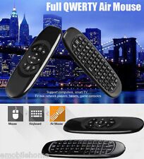 TK668 2.4GHz sans fil Souris d'air Télécommande QWERTY Clavier Indicateur LED