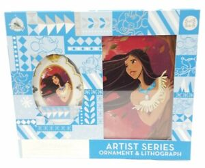Disney Pocahontas Artist Series Ornament Lithograph Limited Edition New