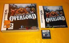 I SERVENTI DELL'OVERLORD Nintendo Ds Versione Ufficiale Italiana ○ COMPLETO - A5