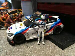 Scalextric Colin Turkington Custom Painted BTCC Driver Figure 1:32 Touring Cars