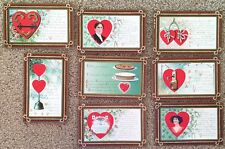 Eight Valentine's Day Postcards of the Story of True Love~108762