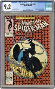 AMAZING SPIDER-MAN 300 CGC 9.2 FIRST APPEARANCE OF VENOM