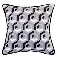 Floyd Hexagon Velvet Cushion Cover - 45x45cm