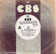 "MARVIN GAYE - ROCKIN' AFTER MIDNIGHT - RARE 7"" 45 PROMO VINYL RECORD - 1982"