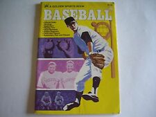 BASEBALL, A GOLDEN SPORTS SOFT BOUND BOOK, 1975 VERY GOOD CONDITION, 64 PAGES