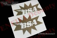 GOLDEN STAR GAS TANK VINYL Aufkleber für BSA SPITFIRE MOTORRAD