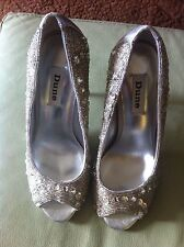 Dune Ladies Crystal Shoes Size 38