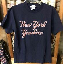 Adidas Short Sleeve T-shirt - Men's Medium - New York Yankees Baseball