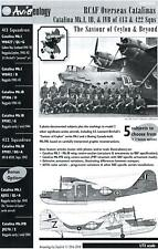 Aviaeology Decals 1/72 PBY CATALINA Canadian Overseas Catalinas at Ceylon