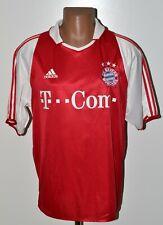BAYERN MUNICH 2003/2005 HOME FOOTBALL SHIRT JERSEY ADIDAS SIZE L ADULT