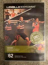 Les Mills BODY COMBAT 62 DVD, CD, notes bodycombat