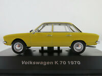 DeAGOSTINI #21 VW K 70 (1970) in gelb 1:43 NEU/PC-Vitrine