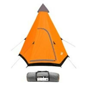 2 Man Teepee Tent Comes with a portable carry bag for easy transit,