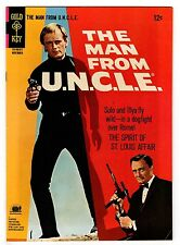 THE MAN FROM U.N.C.L.E. #9 8.0 WHITE PAGES SILVER AGE