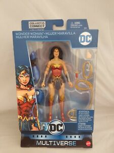 DC Multiverse Action Figure  REBIRTH WONDER WOMAN  Mattel 2018 Lex Luthor BAF
